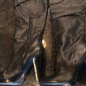 Jessica Simpson over the knee platform boots 8